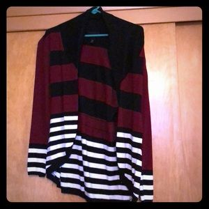 Cardigan with back tie